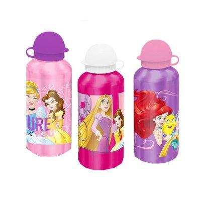 Botella aluminio 500ml Princesas Disney surtido 3 modelos