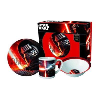 Set desayuno 3 piezas cerámica Star Wars