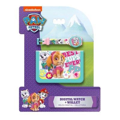 Distribuidor mayorista de Set reloj digital y billetera de Paw Patrol Girls (La Patrulla Canina)