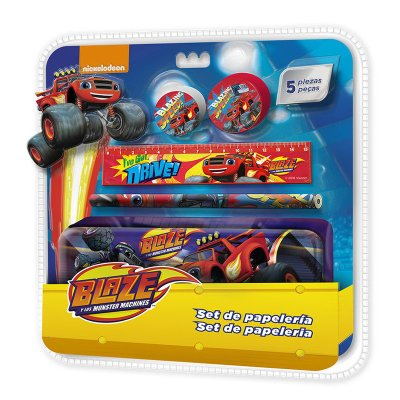Wholesaler of Set de 5 piezas con estuche metálico Blaze and the Monster Machines