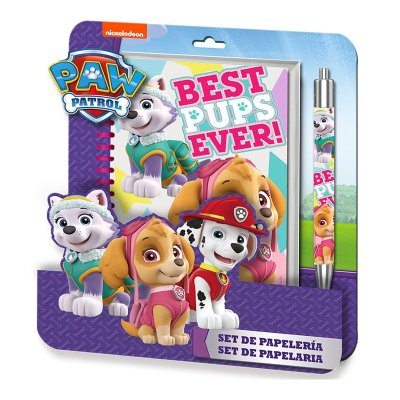 Wholesaler of Paw Patro girl spiral notebook + pen