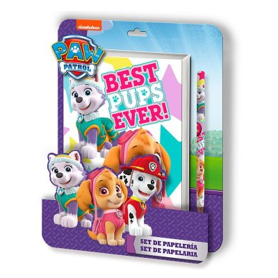 Wholesaler of Paw Patrol girl notebook + pen