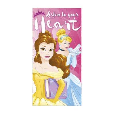 Toalla algodón Princesas Disney 70x140cm