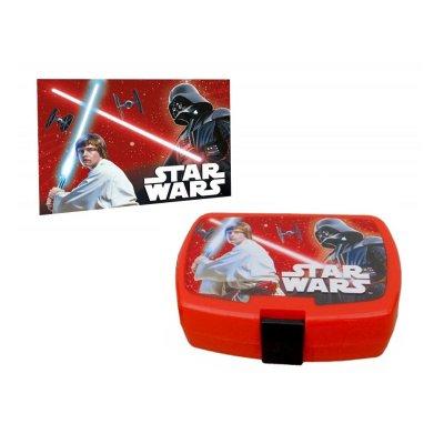 Sandwichera rectangular c/toalla Star Wars