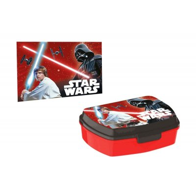 Sandwichera rectangular c/toalla Star Wars