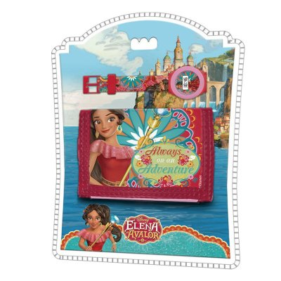 Set reloj digital y billetera de Elena de Avalor