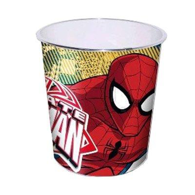 Papelera plástico Spiderman 23cm