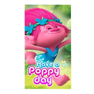 Toalla microfibra Trolls Poppy Have a Poppy Day