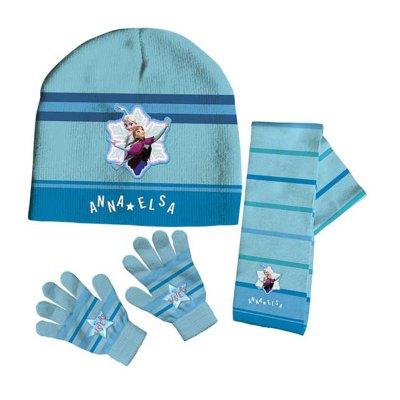 Set gorro bufanda guantes Frozen Disney