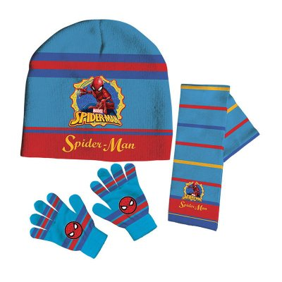 Set gorro bufanda guantes Spiderman Marvel