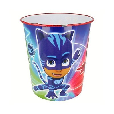 Papelera plástico PJ Maskss Heroes 24cm