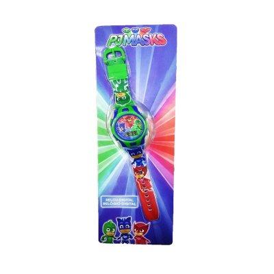 Reloj digital PJ Masks 22cm