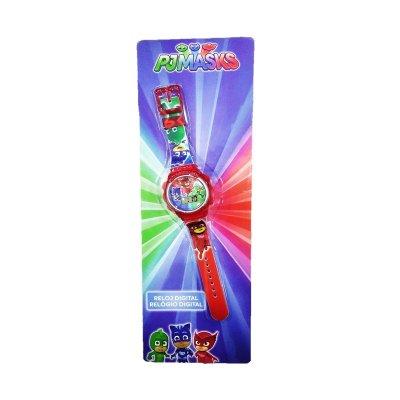 Reloj digital PJ Masks 20cm