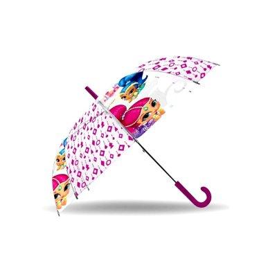 """Paraguas transparente Shimmer and Shine 48cm 19"""""""
