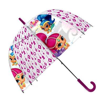 Paraguas manual transparente Shimmer & Shine