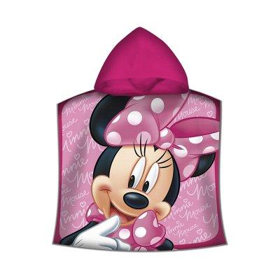 Poncho toalla con capucha microfibra Minnie Mouse