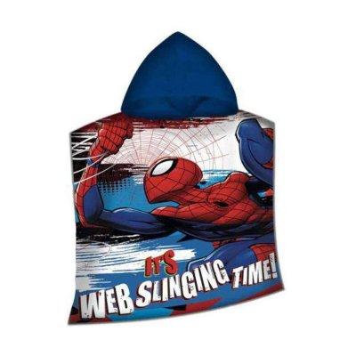 Poncho toalla con capucha Spiderman Marvel