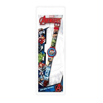 Reloj digital Los Vengadores Marvel 22cm