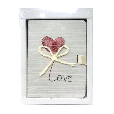 Libreta cinta lateral Love