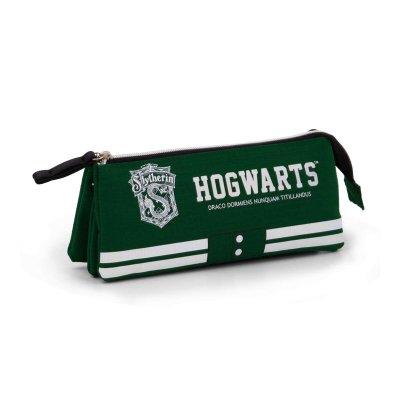 Estuche portatodo triple Harry Potter Slytherin