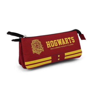 Estuche portatodo triple Harry Potter Gryffindor