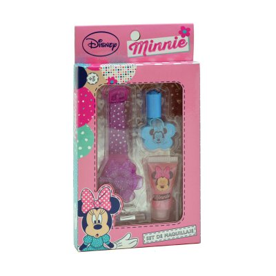 Set de maquillaje 3 piezas Minnie