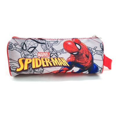 Estuche rectangular con asa Spiderman 20x9cm