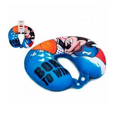 Cojín viaje micro bolitas Mickey Mouse