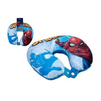 Cojín viaje micro bolitas Spiderman