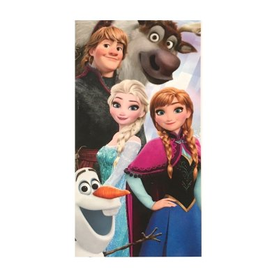 Toalla microfibra Frozen Friends