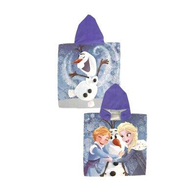 Poncho toalla microfibra Frozen Aventura de Olaf 50x100cm