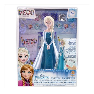 Princesa Disney Deco Frenzy Hucha Frozen