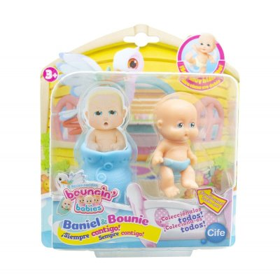 Figura recién nacidos Baniel & Bounie Bouncin' Babies - Baniel Pensativo