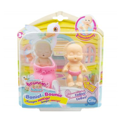 Figura recién nacidos Baniel & Bounie Bouncin' Babies - Bounie Dormido