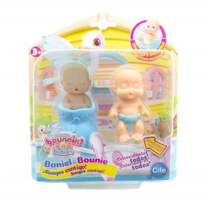Figura recién nacidos Baniel & Bounie Bouncin' Babies - Baniel Dormido