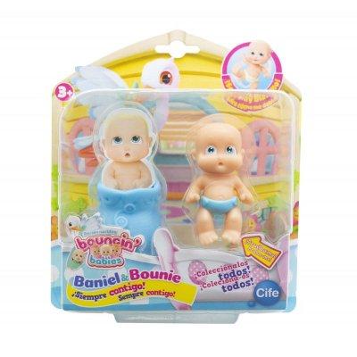 Figura recién nacidos Baniel & Bounie Bouncin' Babies - Baniel Sorprendido