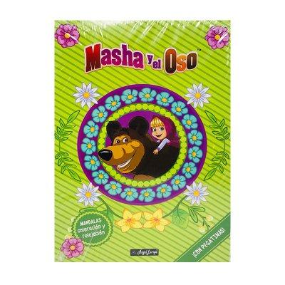 Wholesaler of Libros Mandalas con pegatinas Masha y el Oso