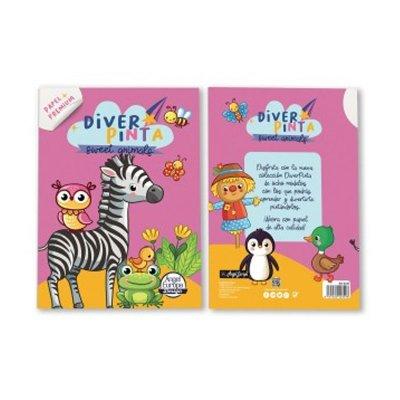 Libros Diver Pinta Sweet Animals