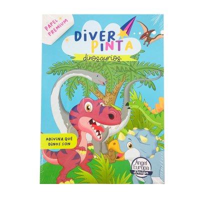 Wholesaler of Libros Diver Pinta Dinosaurios 30x20cm