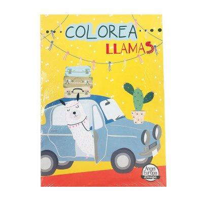 Wholesaler of Libros colorea Llamas 30x20cm