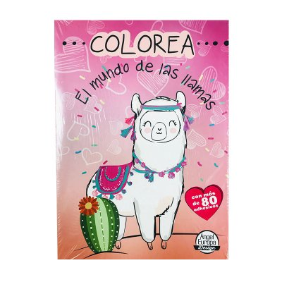 Wholesaler of Libros colorea Llama 30x20cm
