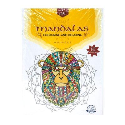 Libro Mandalas Animales A4