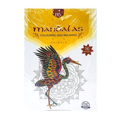 Libro Mandalas Animales A5