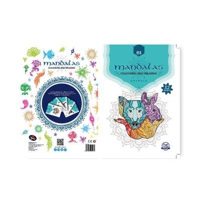 Libro Mandalas Animales B1