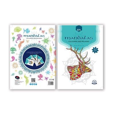 Libro Mandalas Animales B4