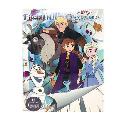Libros pega y pinta Frozen II