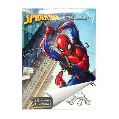 Wholesaler of Libros pega y pinta Spiderman