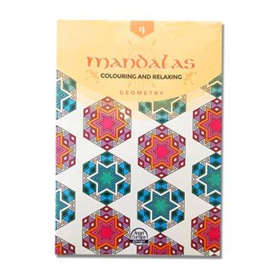 Libros Mandalas Geometría Colouring and Relaxing 21x30 32pgs