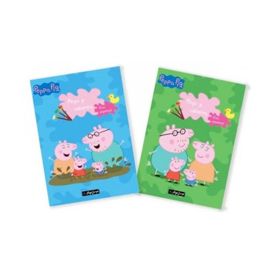Wholesaler of Libros Pega y colorea Peppa Pig 30x20cm