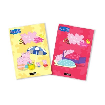 Wholesaler of Libros Super pega y colorea Peppa Pig 30x20cm